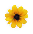 yellow flower eps file vector image