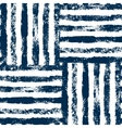 blue and white striped woven grunge seamless vector image vector image