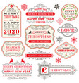 christmas cards stock vector image vector image