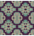 geometry paisley vintage floral seamless pattern vector image vector image