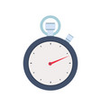 stopwatch concept icon flat design isolated on vector image