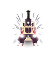 train icon locomotive travel railway vector image vector image