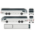 travel bus vector image vector image