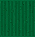water drops seamless background vector image vector image