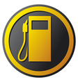 petrol station icon vector image