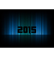 2015 abstract lines black vector image vector image