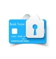 Credit Card Protection Concept Icon vector image vector image