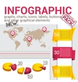 infografic set vector image vector image