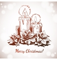 Merry Christmas and Happy New Year holidays vector image