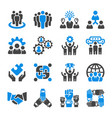 teamwork icon vector image vector image