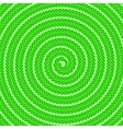 Abstract Green Spiral Pattern vector image vector image