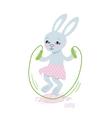 Bunny jump vector image vector image