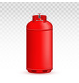 creative of gas cylinder tank vector image