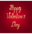Happy Valentine s Day Hand Drawing Lettering vector image