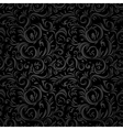 Black stylized pattern vector image