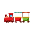 Children locomotive icon cartoon style vector image vector image
