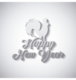 chinesse happy new year design vector image vector image