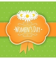 Eight 8 of March Women Day background vector image vector image