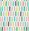 Fir branches seamless pattern vector image