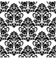 Heavy arabesques seamless pattern vector image