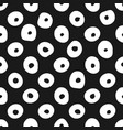 minimalistic seamless pattern with circles hand vector image vector image