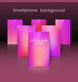 set of blurred background vector image vector image