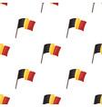 the belgian flagthe dark belgian wolf belgium vector image vector image