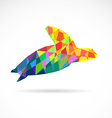 Turtle abstract vector image vector image