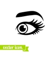 Eye icon 9 vector image