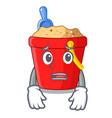 afraid picture beach bucket on shovel cartoon