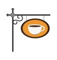 coffee sign icon vector image