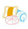 cushion set icon shapes vector image vector image