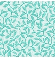 green branches texture seamless pattern vector image