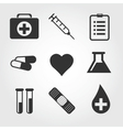 Medical icon flat design vector image