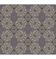 Seamless elegant lace pattern vector image