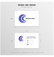 Abstract Creative Business Cards Design vector image vector image