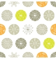 abstract gray and green polka dot seamless vector image