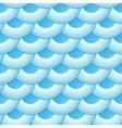 Blue retro fish scales seamless pattern