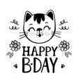 cat baby birthday cartoon clip art