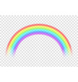 creative of rainbows in vector image
