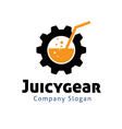 Juicy Gear Design vector image