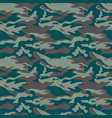 military camouflage seamless pattern three colors vector image vector image