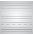 page dividers 0801 vector image vector image