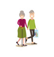 parents concept in flat style vector image