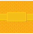 seamless yellow background vector image vector image