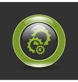 cogs gears in circle vector image
