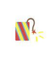 fireworks background celebration icon star vector image