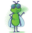 Bug Cartoon vector image vector image