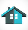 home construction abstract logo vector image
