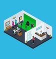 isometric photo studio concept vector image